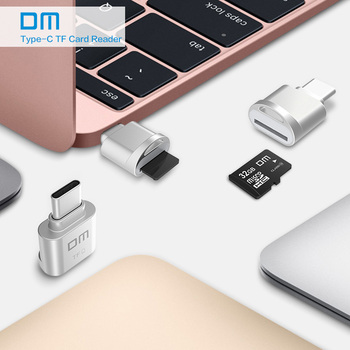 DM Mini Tip C usb3.1 Micro SD TF card de Memorie cititor pentru Macbook sau smartphone cu interfață de tip c 95928